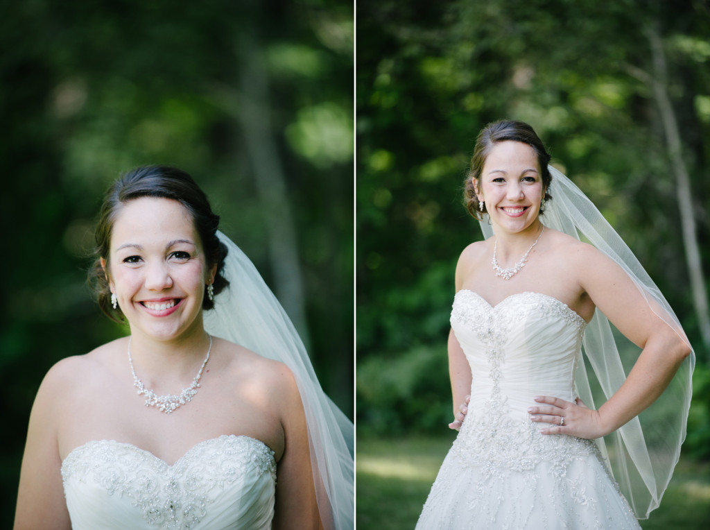 Bride Portrait - Northern Minnesota Wedding Photography